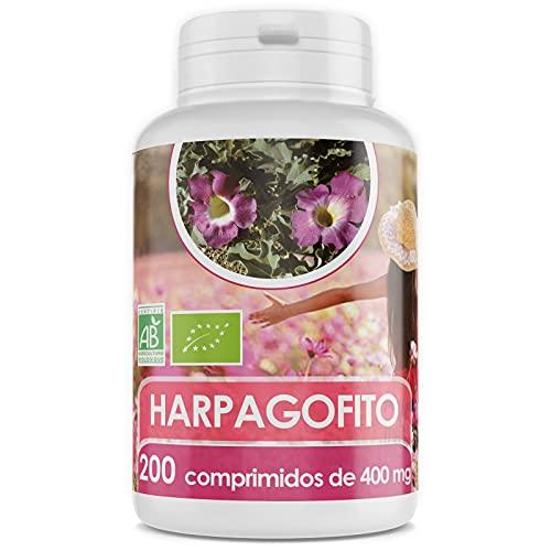 Harpagofito Orgánico - Garra del Diablo - 400 mg - 200 comprimidos