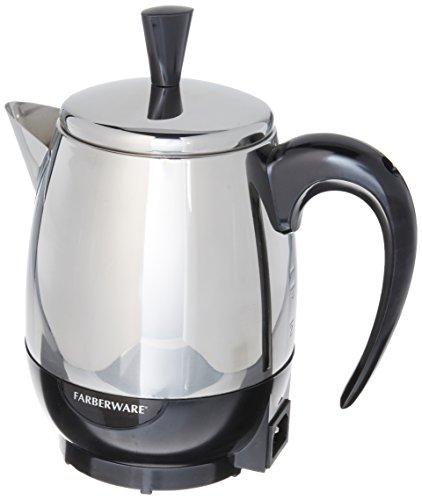 Farberware Percolator 4 Cup Stainless Steel 1000 W