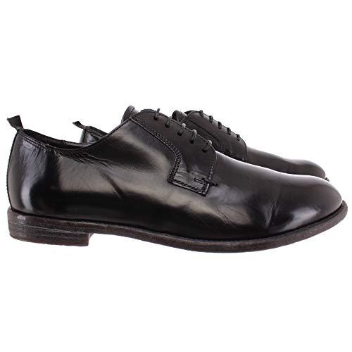 MOMA Herren Klassische Schuhe 2AS034-MU Murano Nero Leder Schwarz