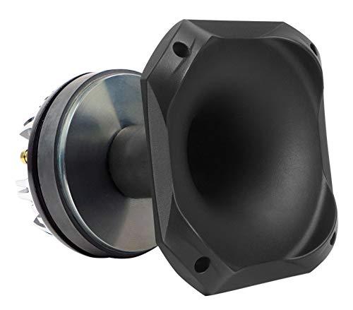 "Rockville HT100 1.75"" 300 Watt Car/Pro Audio ABS Horn Titanium Tweeter"