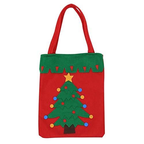 Kerstversiering Gift Tassen, Kerst Snoep Tassen Santa Broeken Stijl Mooie Behandel Tassen Wijnfles Tassen Voor Kinderen