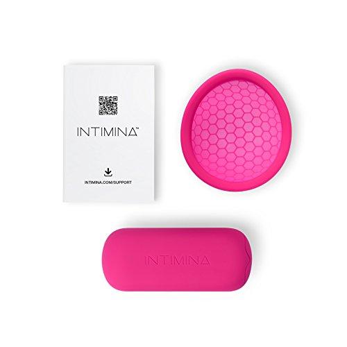 Intimina Ziggy Cup – Extra-dünne wiederverwendbare Menstruationstasse mit flacher Passform - 3