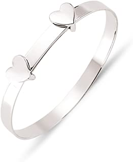 RUXIANG Simple Love Tie Knot Bangle Easy Adjustable Cuff Open Bracelet Jewelry