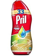 Pril All in 1 Gel Grease Cutting Dishwasher Detergent - 670 ml
