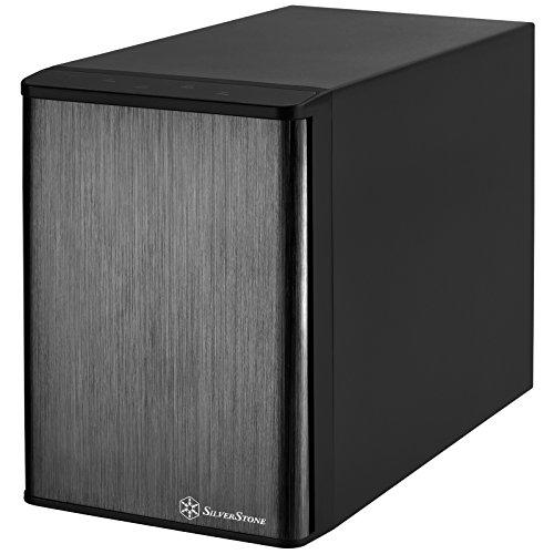 "SilverStone SST-TS431U-V2 - Carcasa para Disco Duro Externo USB 3.1 Gen 1 e-SATA con Almacenamiento Raid de 4 bahías, para HDD o SSD DE 3,5"", Negro"