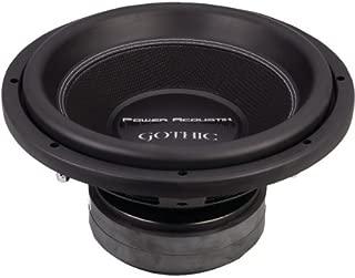 POWER ACOUSTIK GW3-12 Gothic Series 2ohm Dual Voice-Coil Subwoofer (12