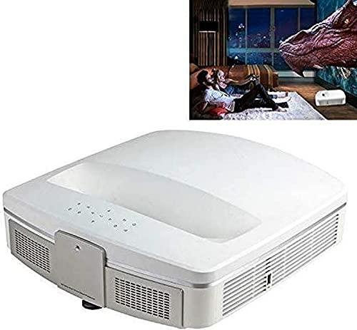 Proyector, proyector portátil con Full HD 1080p, Bluetooth WiFi Smart 3D Proyector de Enfoque ultracorto, para Cine en casa