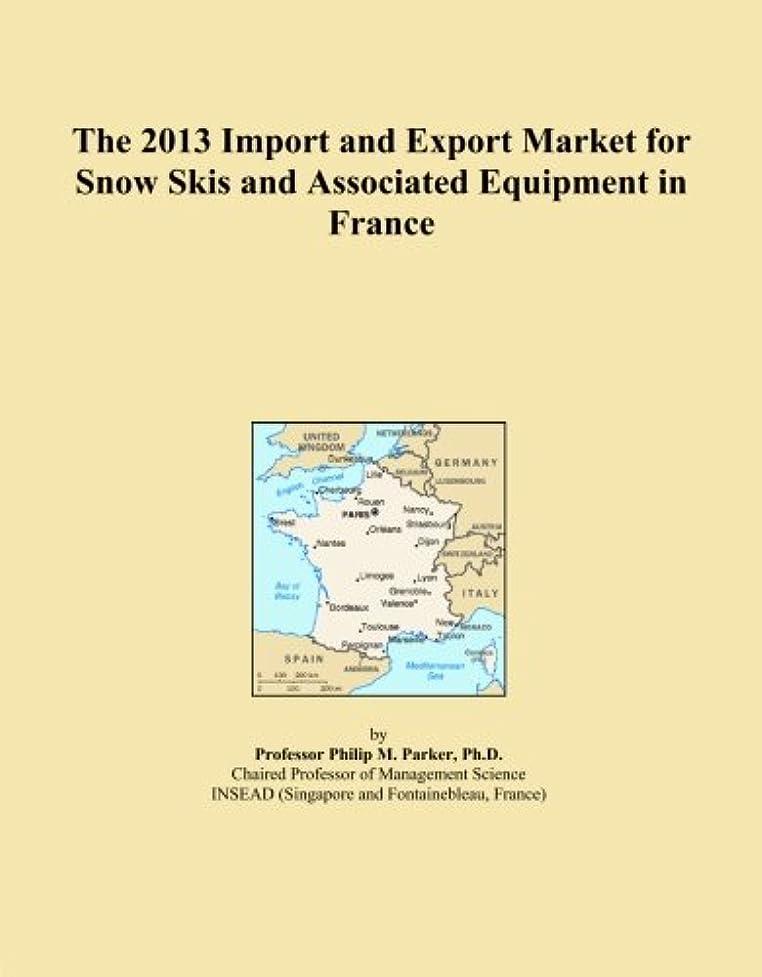 オートマトン校長カメラThe 2013 Import and Export Market for Snow Skis and Associated Equipment in France