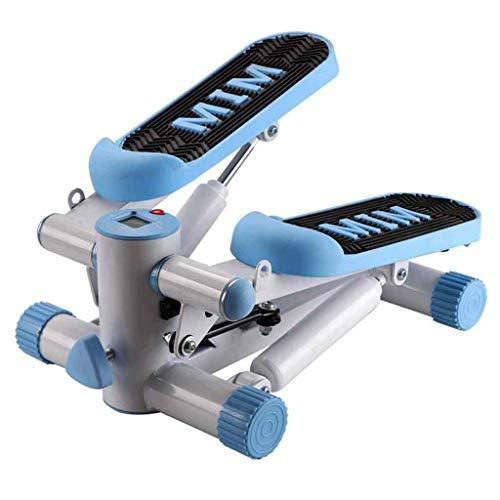 HXCD Step Machine Twister Regolabile Stepper Mini Step Rotary Ellittico Trainer Stepper Attrezzatura per Il Fitness Attrezzatura per Il Fitness Rosso, Blu