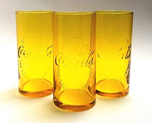 /Coca Cola Mc Donald Lot de 3 verres de 0,3 l