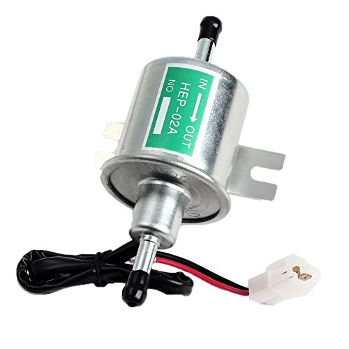 Senhai 2015 New Universal-12V 1.2A Heavy Duty Elektro Silber Gas Diesel Fuel Pump Metall Intank Solide Zapfsäulen HEP-02A Set