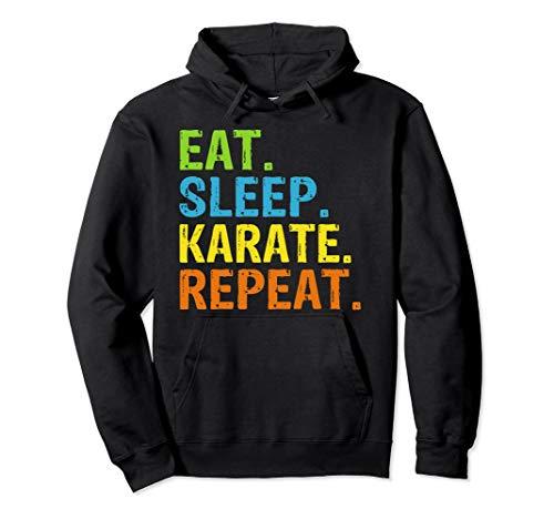 Eat Sleep Karate Repeat Gift Pullover...