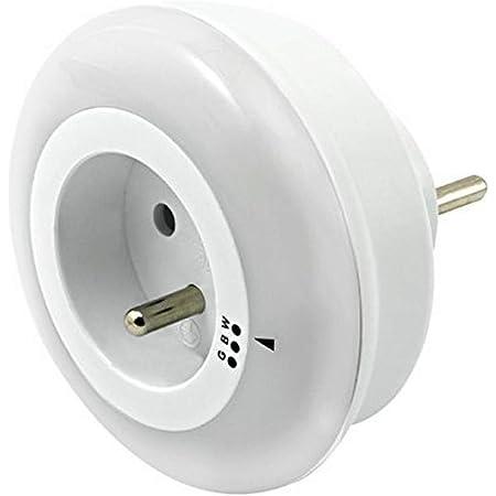 Brennenstuhl 1173261 Veilleuse LED, Plastique, Blanc, 8, 2 x 6, 2 cm