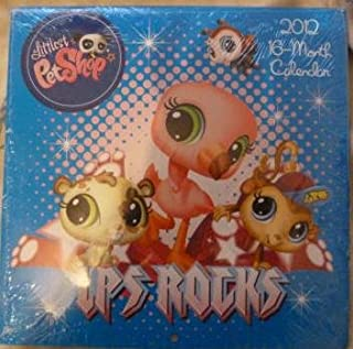 The Littlest Petshop 16 Month Calendar for 2012 by LEAPYEAR