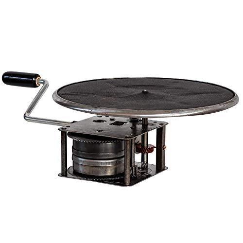 aubaho Grammophon Motor Plattenteller Kurbel Set Ersatzteil Antik-Stil Ersatz Austausch