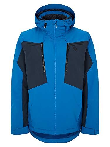 Ziener Herren TINTU Ski Snowboard-Jacke | Atmungsaktiv, Wasserdicht, Persian Blue, 52