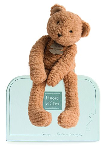 Doudou et Compagnie - Peluche Ours - 38 cm - Miel- Sweety Couture - HO2638