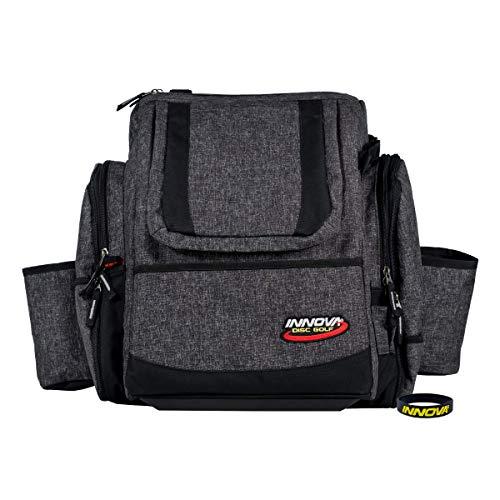 Innova Super HeroPack II Disc Golf Backpack – Holds 25+ Discs, Redesigned for Comfort - with Innova Wristband