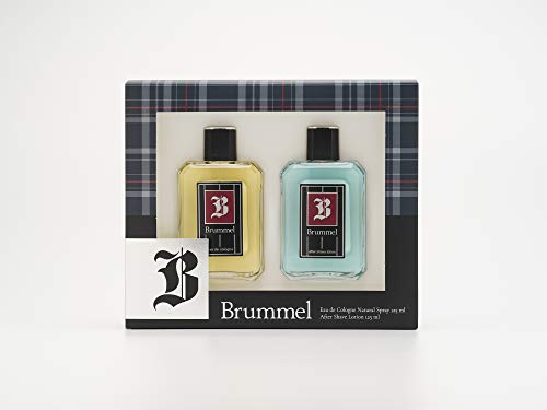 Brummel - Classics Estuche de Regalo para Hombre, Eau de Cologne 125 ml y After Shave 125 ml