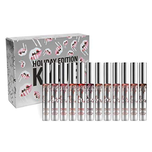 Hehilark Kylie Holiday Edition 12 Piezas Kit Brillo