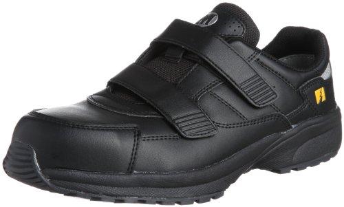[ミドリ安全] 安全作業靴 JSAA認定 静電気帯電防止 マジックタイプ プロスニーカー SL615S メンズ ブラック 30.0(30cm)