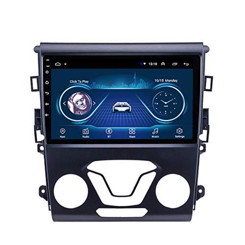 Dscam Coche navegación System 9' Android 9.1 Car GPS Navegación Reproductor de para Ford Mondeo 2013-2017 | Pantalla LCD Táctil | USB | WLAN | 4.0 Bluetooth,1G+16G-Quad-Core