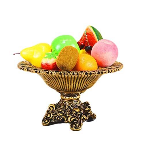 WZHZJ Plato de Frutas - creativos Perfumes Plato de Fruta for el Comedor Vector de la decoración Decoración de la Pieza Central de Comedor Sala de Estar Mejor Regalo de Boda