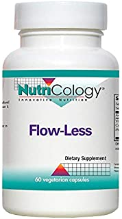NutriCology Flow-Less 60 Vegetarian Capsules