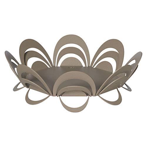 Arti e Mestieri - Centro de mesa Origami de color beige