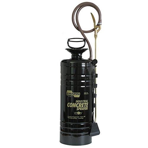 Chapin International 1449 Industrial 3.5-Gallon Professional Concrete Funnel Top Sprayer, Black