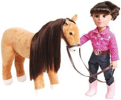 grandes ahorros Madame Alexander Brunette Polka Polka Polka Dot Doll with Horse by Madame Alexander  mejor calidad