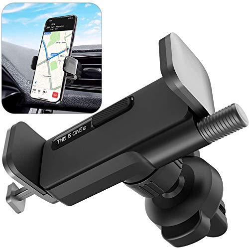 ORYCOOL Auto Handyhalterung, KFZ HandyHalterung Lüftung, 360 Drehung KFZ Handyhalter, Auto Handyhalter Kompatibel mit iPhone 11 Pro, Samsung S20+, Huawei & Mi (für 4.7 Zoll to 6.8 Zoll)(Grau)