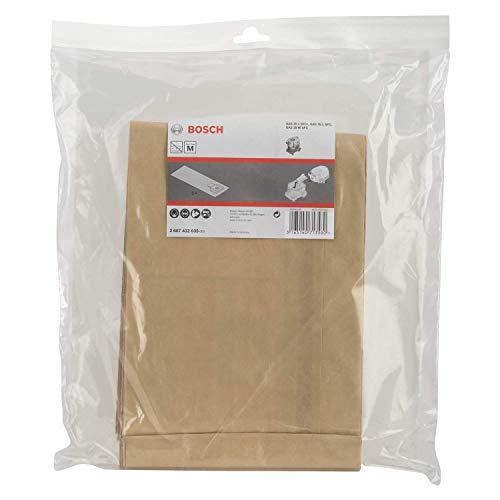 Bosch Professional Papier Staubsauger Beutel (5 Stück, für GAS 35, in Plastikhülle)