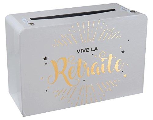 SANTEX 5650-1, Petite Tirelire valise Vive la retraite