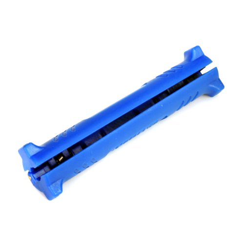 Nieuwe Hot Koop Blauw Coax Coaxiale Kabel Koord Draad Stripper voor TV CBL VCR antenne