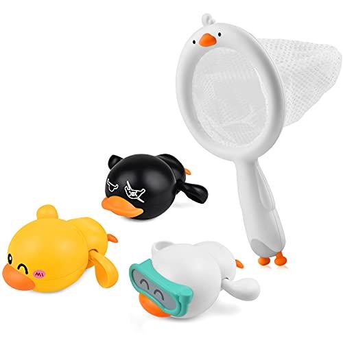 LiKee Baby Bath Toys Floating Wind-up Ducks...