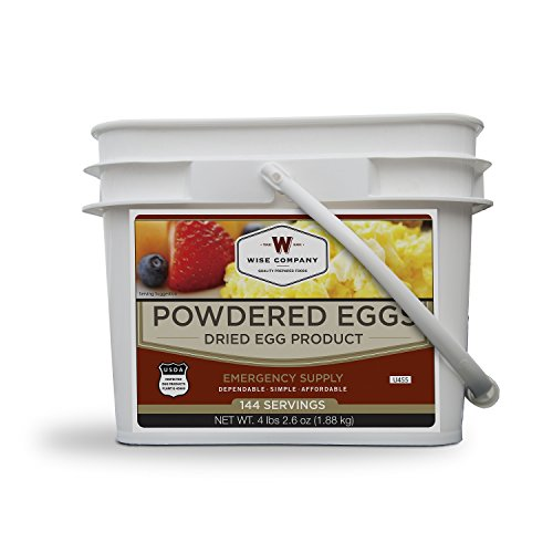 ReadyWise Emergency Food Supply, Powdered Egg Bucket, 144 Servings