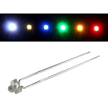 50x Superhelle Leds 3mm Kalt Weiß 6000k 20ma 3 2v 4000 6000mcd 30 Konventionelle Led Beleuchtung