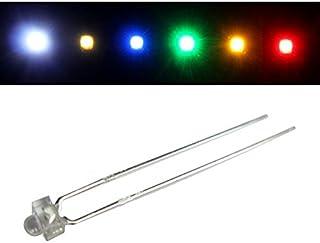 50x Superhelle LEDs 1,8mm Warm Weiß 3000K 20mA 3,2V 3000…4000mcd 30° Konventionelle LED