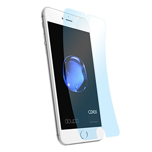 doupi 3X Ultrathin Pellicola Protettiva per iPhone SE (2020) / iPhone 8/7 (4,7 Pollici), Crystal Super Clear Cristallo Protettore Lucido Schermo Protezione (3 in Pack)