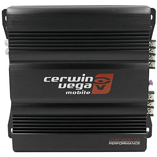 Cerwin Vega CVP1600.1D CVP Series Monoblock Class-D Amplifier (800W RMS) + Free LAB Sticker