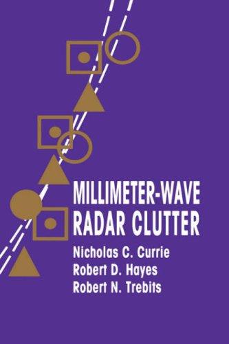 Millimeter-Wave Radar Clutter (Artech House Radar Library (Hardcover))