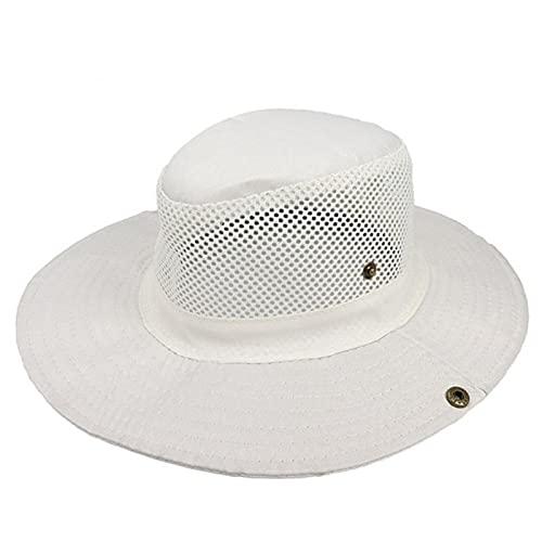 UKKD Sombrero de Paja Pescador De Color Puro Al Aire Libre Pesca Sun Hat Hat Mountain Camuflaje Cap Jungle-See Chart,One Size