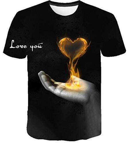 ONLYONE1 T-Shirts Thanksgiving liefde toewijding betekenis Unisex korte mouwen Shirt Mass Casual Wild T Shirt