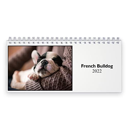 French Bulldog 2022 Desk Calendar