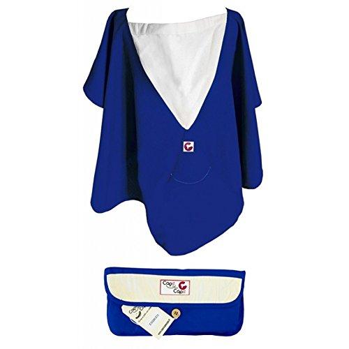 Cape d'allaitement essentielle (Bleu)