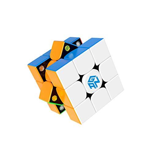 GAN 356X v2, 3x3 Cubo Mágico Speed Puzzle de Gans Magnético Cube Juguete Rompecabezas (Sin Pegatinas)