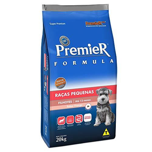 Ração Premier Fórmula para Cães Filhotes de Raças Pequenas Sabor Frango, 20kg Premier Pet Raça Filhotes,