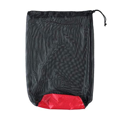 kokokwad Wasserdichter Faltbarer Kompression Schlafsack Sport Nylon Aufbewahrungstasche Multifunktions-Netzsack Camping Reisen Kits