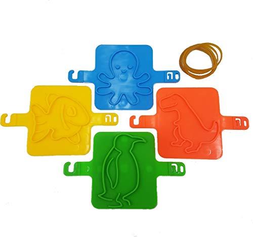 Top Race Stampi per bambini Stampa su sabbia Stampi Gioco giocattolo Set - Forme animali per bambini Stampi cinetici da spiaggia Giocattoli per bambini Sabbionaia, Artigianato in argilla